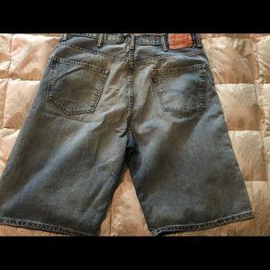 Levi's Shorts - Levis blue Jean shorts
